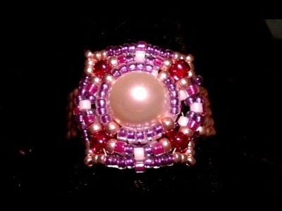 Beading4perfectionists : updates - moving - Christmas card - sneak preview 2014 - Fundraiser Ring