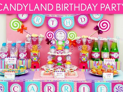 Candy Birthday Party Ideas. Candyland - B39
