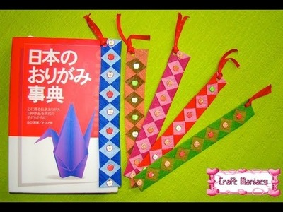 Craft Maniacs 7: Woven Paper Bookmark