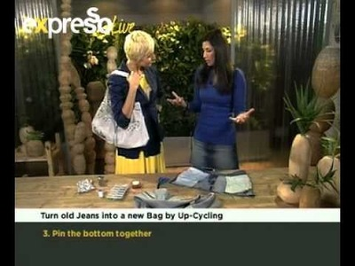 Craft: Upcycling Old Denim jeans  (19.07.2012)