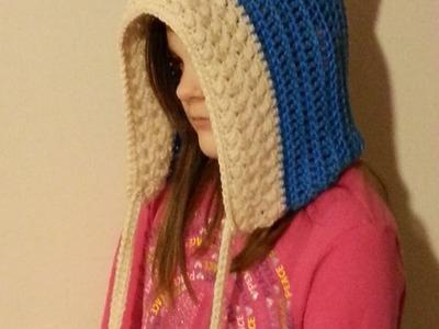 #Crochet Frozen Inspired Hood Child or Adult #TUTORIAL #freecrochet