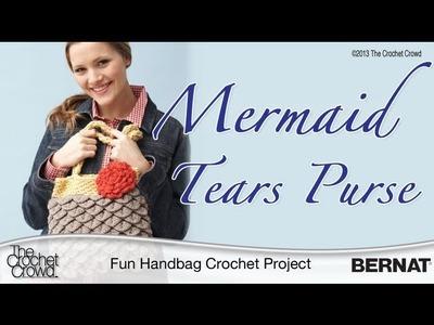 Crochet Mermaid Tears Purse - Part 4