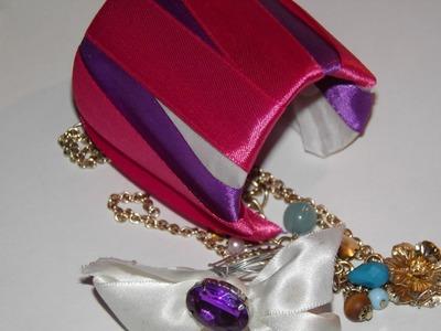 DIY accessory recycled bracelet tutorial