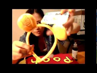 DIY Adult Winnie The Pooh Costume