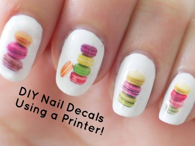 DIY Nail Art Decals Using a Printer