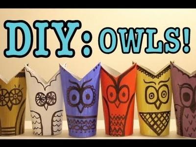 DIY: OWLS! #2!