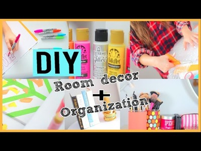 DIY Room Decor + Organization For 2015!