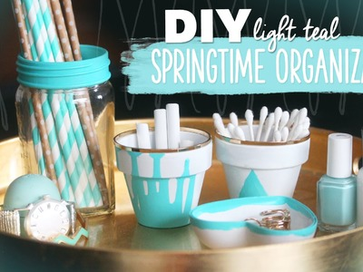 DIY Spring Organization Anyone Can Make! ~ Crafts by @karenkavett