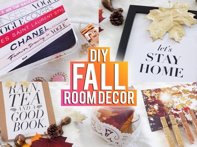 DIY TUMBLR Fall Room Decor