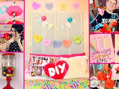 DIY Valentine's Day Room Decor | DIY Party Treats | DIY Gifts | Cute & Easy Dollar Store DIYs!