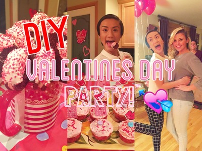DIY Valentines Day Party! Treats, Decorations, and more!