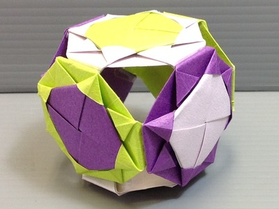 Elegant Theme Colorful Projects Origami Kusudama