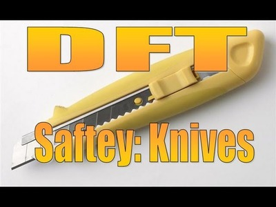 ESSENTIAL Tool training and saftey tips ( Craft Knife )