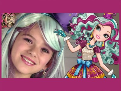 Ever After High Madeline Hatter Makeup Tutorial  |  KITTIESMAMA