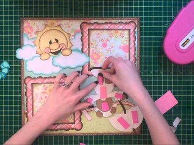 Faith Abigail Designs - Rainy Day Bear Scrapbook Layout Part Two
