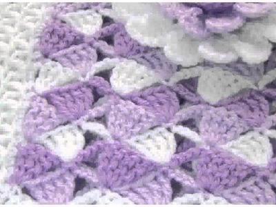Free Crochet Patterns Baby Blankets  Pictures Design - Hilary Jameson