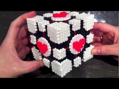 Hama Beads. Perler Beads Companion Cube and more