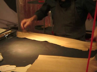 Hermès Artisans at the Festival of Crafts: Saddles, Gloves and Ties (nat sound)