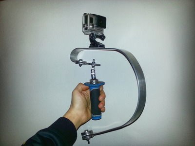 Homemade Steadicam GoPro Tutorial (DIY). Steadicam Fai da Te per GoPro
