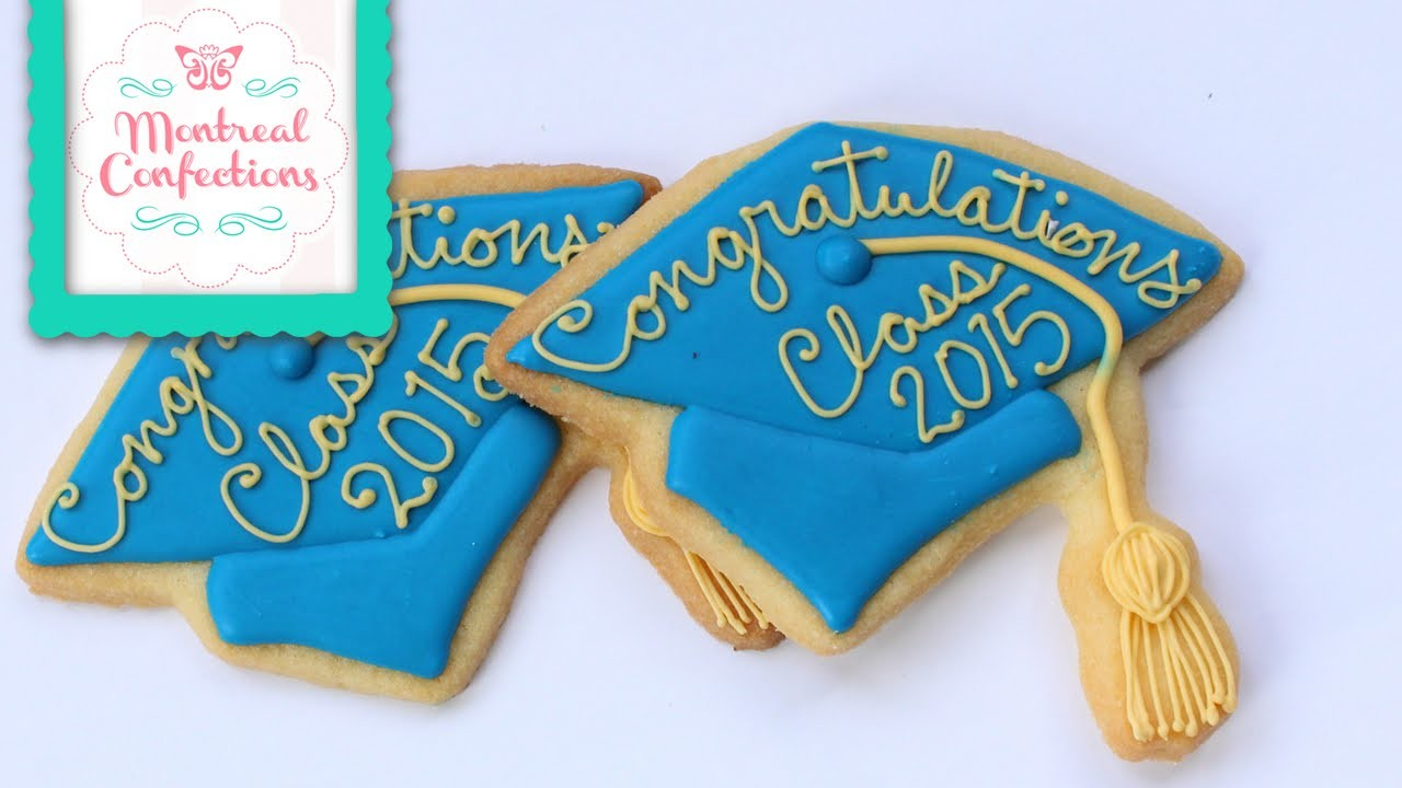 How to make a grad cap cookie