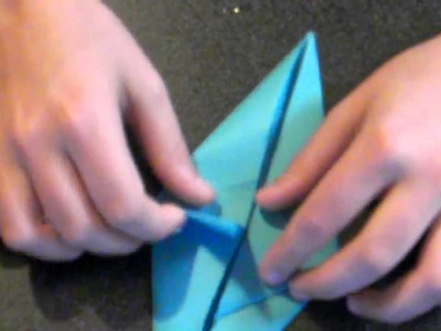 How to make an origami shark