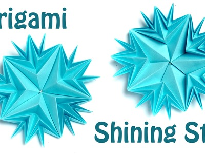 How to make origami Shining star (E. Lukasheva)