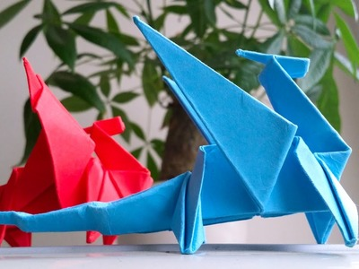 How to make Paper Dragon - Easy Origami