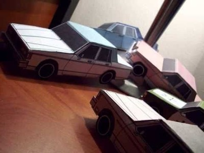 JCARWIL Paper Craft Cars The Beginning 2010