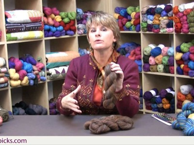 Kelley's Rigid Heddle Weaving - Class Part 3: Choosing Your Yarns