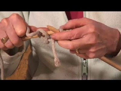 Knitting With Rope : Knitting