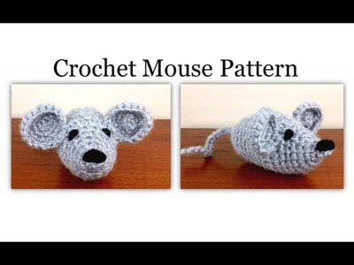 Left Hand Crochet Mouse Pattern - Easy Amigurumi Pattern