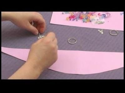 Making Beaded Window Valances : Measuring Strings for Curtain Tiebacks