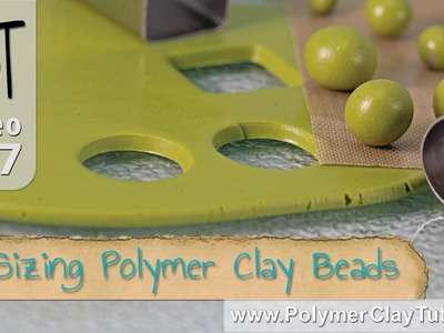 Making Polymer Clay Beads All The Same Size or Graduated