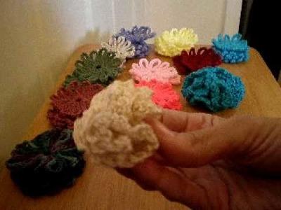 New Crochet Flowers
