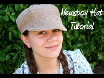 Newsboy Hat Tutorial (With FREE Pattern) - Whitney Sews