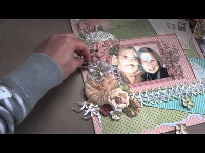 """Once in a Lifetime"" 12x12 Scrapbook Layout & Tutorial"