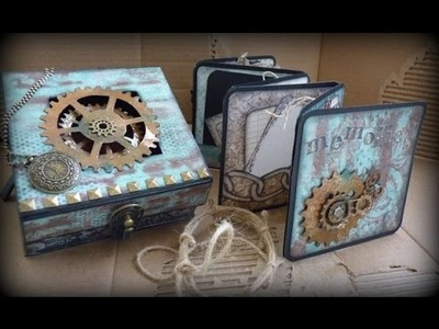 Paper Crafter's Library Featured Designer - Gift Box and Mini