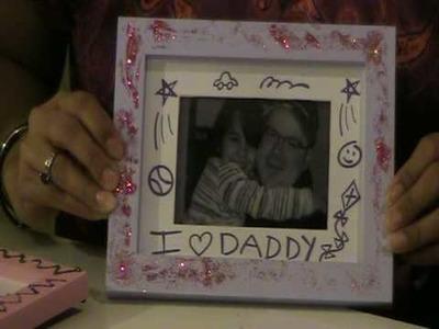 ParentTalkTV : Make Your Own Frame Craft Project : WhereParentsTalk.com :: Parenting Video