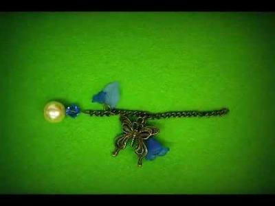 Pearl and Flower Bag Charm Stop Motion Animation