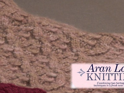 Preview Aran Lace Knitting with Stephannie Tallent