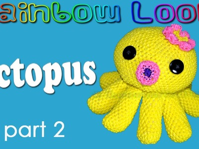Rainbow Loom Octopus - Part 2.4 Head