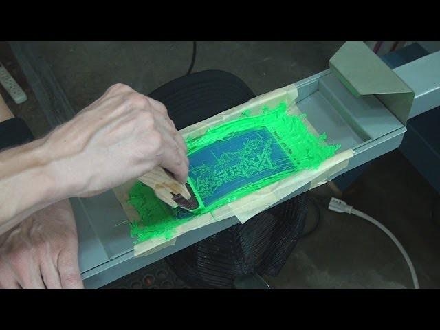 Screen Printing: How To Print Foam Baseball Trucker Caps & Hats