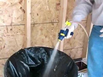 Spray Foam Insulation Kit - Foamseal 600 DIY