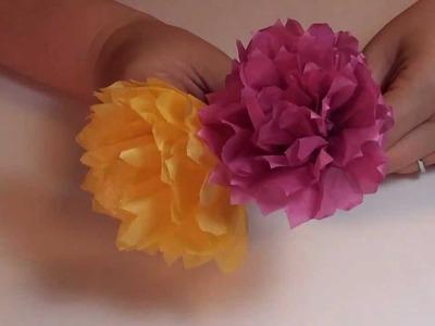 Tissue Paper Carnation Flower