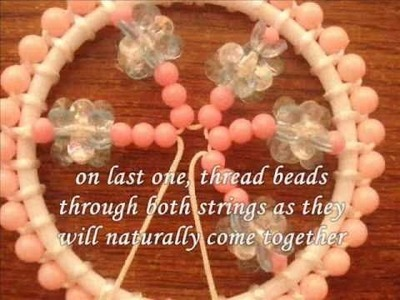 Tutorial: Mini Sparkly Beaded Dream Catcher