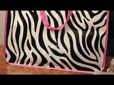 What Do You Put in the Bottom of a Tote Bag to Hold Its Shape? : Craft & Decoration Tips