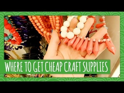 Where to Get Cheap Craft Supplies - Weekly Recap - HGTV Handmade