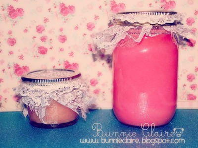 10 DIY gifts: Gift Idea 1: HOMEMADE SUGAR SCRUB. Amazing GIFT!!
