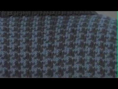 #19 Men's Vest, Vogue Knitting Winter 2009.2010