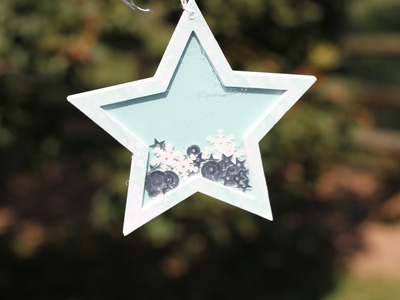 2014 Holiday DIY Projects #3 - Star Shaker Tag